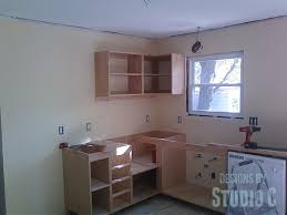 installing cabinets in the kitchen u2013 designs by studio c