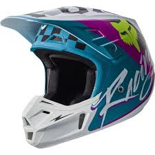 blue motocross helmet fox 2017 v2 rohr ece helmet teal online motorcycle accessories
