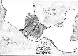 Mesoamerica Map Aztec Architecture And Building
