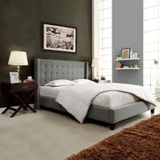headboard designs for king size beds homesullivan franklin park grey king upholstered bed 40315b932w 3a