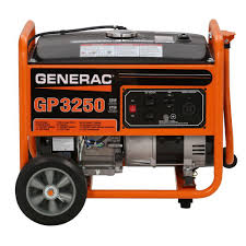 generac 3 250 watt gasoline powered portable generator 5982 the