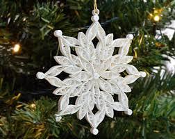 paper snowflakes etsy