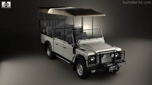 land rover 1990 360 view of land rover defender safari game viewing 1990 3d model