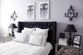Black And White Bedrooms Black U0026 White Bedroom Decor Reveal