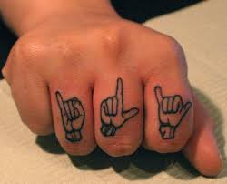 creative tattoo art on hands u0026 fingers