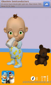 talking android talking babsy baby free android app android freeware