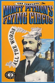 the complete monty python u0027s flying circus all the words vol 2