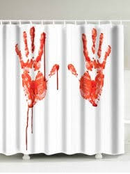 Blood Shower Curtain Halloween Curtains Cheap Shop Fashion Style With Free Shipping