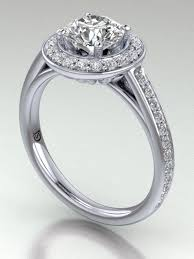 round halo rings images Halo cathedral engagement ring with chanel set diamonds png