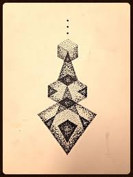 triangle tattoos sacred geometry and trippy on pinterest with