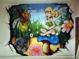 graffiti boys bedroom childrens bedroom mural tinkerbell cardiff graffiti art murals
