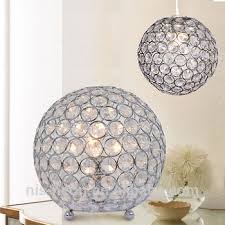 droplets ceiling pendant light shade jewel ball chrome crystal