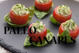 food canapes paleo canapés and food paleo diet and fitness