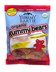 amazon com yummyearth organic gummy bears 5 ounce bags pack of