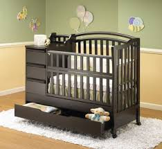 baby crib with changing table attached shelby knox
