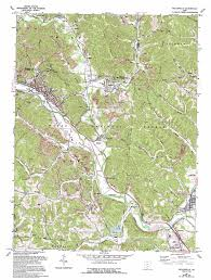 Logan Ohio Map by Nelsonville Topographic Map Oh Usgs Topo Quad 39082d2