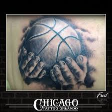 basketball tattoos picture basketball with