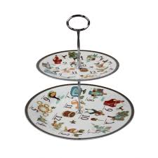 2 tier cake stand days of christmas 2 tier cake stand