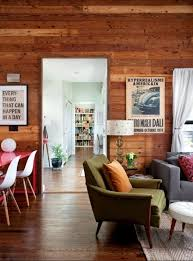panelled walls 20 charming living rooms with wooden panel walls rilane