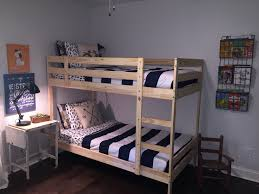 lit ikea blanc double mommo design ikea kura 8 stylish hacks ikea mydal bunk beds adventure shared boys room our house
