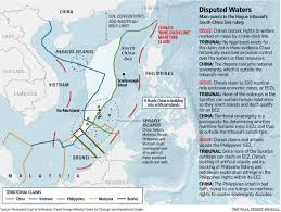 Map Of South China Sea by South China Sea Tensions Leave Oil Potential Untapped Wsj