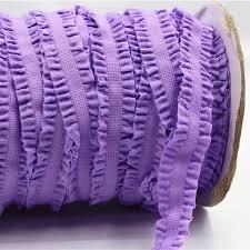 crochet elastic ribbon 1616220 16mm solid crochet flower fold elastic ribbon 10