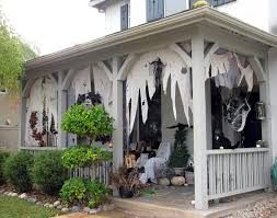 halloween haunted porch ideas home design ideas