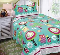 Twin Bedding Sets Girls by Owl Comforter Set Best Twin Size Owl Print Comforter Sets For