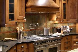 rustic kitchen backsplash ideas beautiful backsplash ideas enlarge pencil tile mekomi co