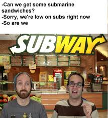 Subway Meme - subs the fine brothers know your meme