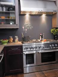 Easy Backsplash For Kitchen by Kitchen Design With Cool Chalkboard Backsplash Also Kitchen