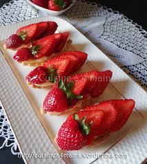 aux fraises cuisine tartelettes aux fraises pour la bataille food 24 cuisine à 4 mains