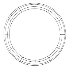 wreath forms 24 inch wire wreath frame wreath bases forms