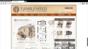 Tumbleweed Floor Plans Cypress 18 House From Tumbleweed Tiny House Company Youtube