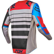 motocross jersey and pants combo fox racing 2017 mx new 180 falcon grey red blue jersey pants