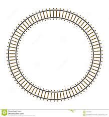 infinity circle train railway track stock photos image 11553593