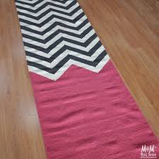 Chevron Runner Rug Great Chevron Runner Rug With Block Runner Fuchsia Chene Interiors
