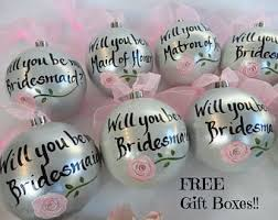 bridesmaid ornament etsy