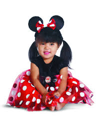 Infant Girls Halloween Costumes Red Minnie Mouse Infant Halloween Costume Walmart