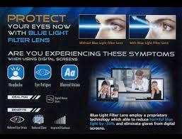 what does blue light filter do blue light filter lenses eyecon optical