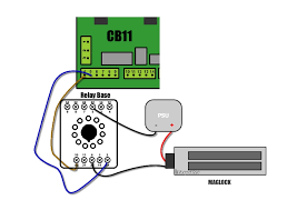 mag lock wiring diagram for scs300k