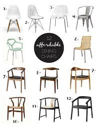 AFFORDABLE Modern Dining Chairs Living Rooms  Dining Spaces - Design chairs cheap