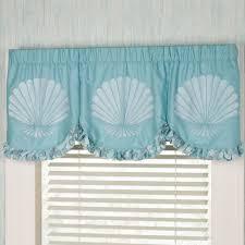 tides coastal grommet window treatment