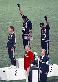 1968 Olympics Black Power salute