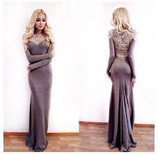 dress maxi dress alena shishkova grey evening gown