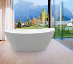bathroom design luxury white freestanding tubs with faucet for