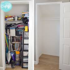 Rubbermaid Closet Configurations Get Organized Storage Closet Makeover