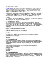 How To Write A Perfect Resume How To Write A Resume For Your First Job Neoteric How To Make A