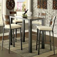 Oak Bar Table Jazlyn Ii Cm3686bt 5pc Bar Table Set In Oak