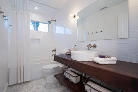 Coastal Bathroom Mirrors by Mid Century Beach Bathroom Beach Style With Mid Century Square